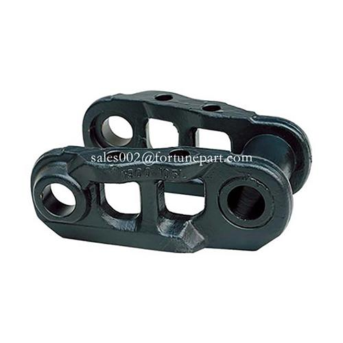 JCB excavator track link for aftermarket replacement